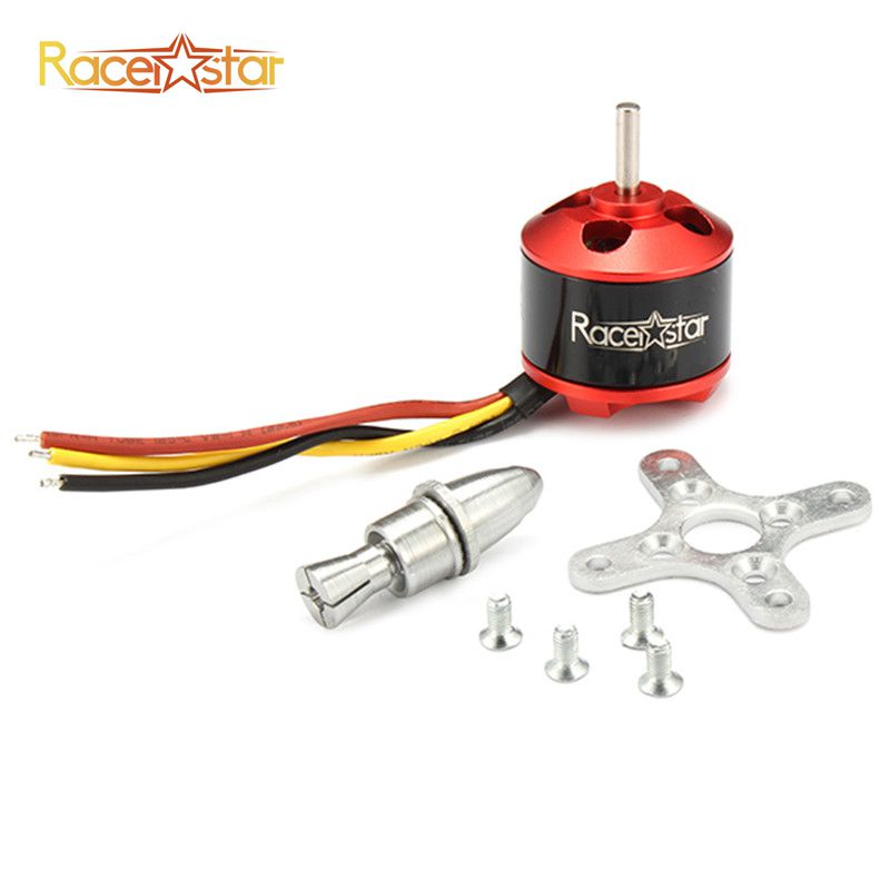 Best Deal Racerstar <font><b>BR2212</b></font> 1400KV 2-4S Brushless Motor For RC Models For RC Toys Models image