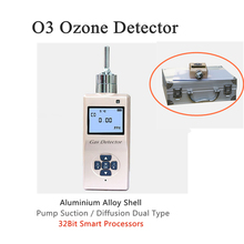 O3 Monitor Pump Suction Gas Detector Sound Light Shock Alarm Ozone Meter Gas Leak Detector Professional O3 Gas Analyzer o3 ozone smit