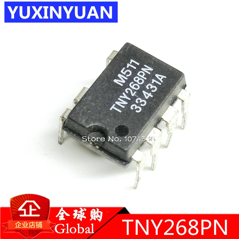 10PCS TNY268P TNY268PN DIP7 Into  TNY268  Management Chip