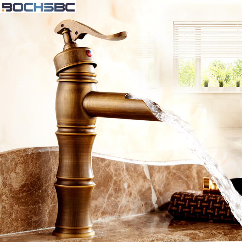 BOCHSBC Bathroom Faucets Mixer Euroean Style Retro Easy Wash for Basin Sink and Kitchen Antique Faucet the oldest dead white euroean males and