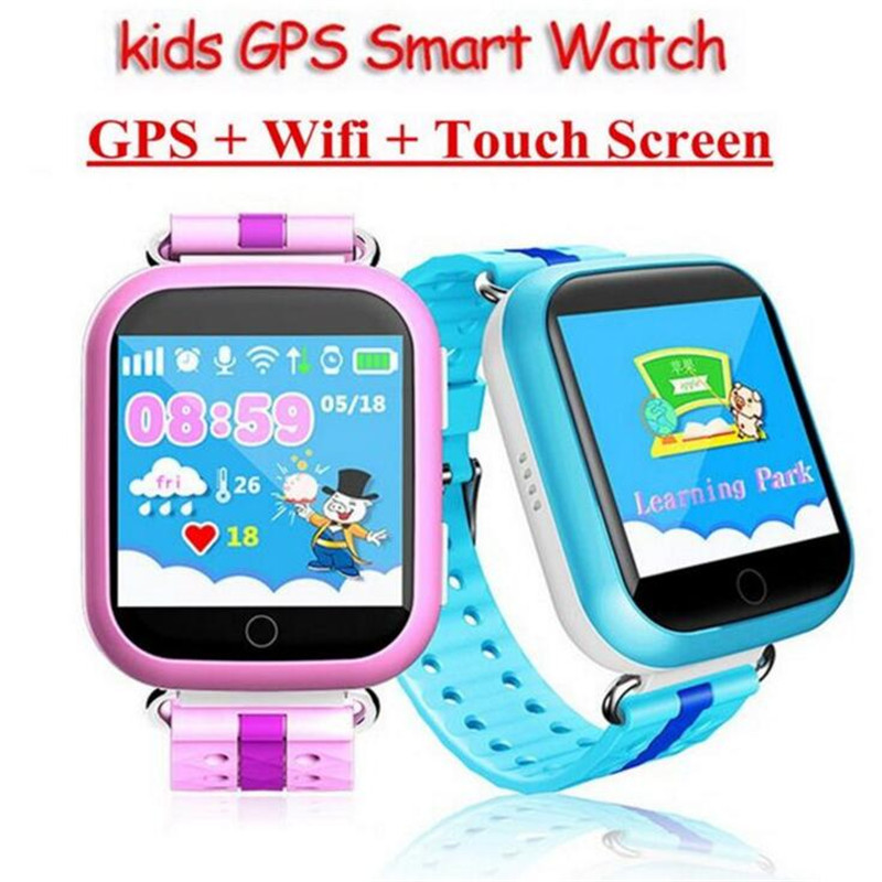 Children GPS Smart Watch Q750 Baby Watch With Wifi 1.54inch Touch Screen SOS Call Location Device Kids Watch Phone Montre F15 smart baby watch каркам q60 голубые