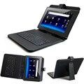 Multi-lingual portátil tampa do teclado caso de couro para lenovo ideatab a7600 a7600-f a7600-h a10-80 a10-70 tablet stand case flip