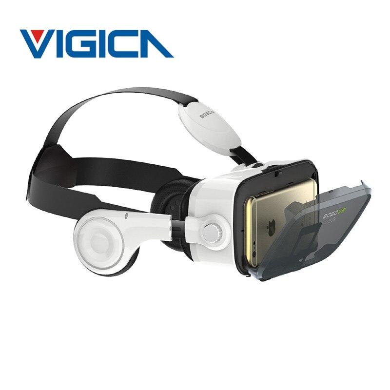 Xiaozhai bobovr z4 caja gafas 3d vr vr realidad virtual auriculares con auriculares para 4.7-6.2 ''smartphones + remote gamepad