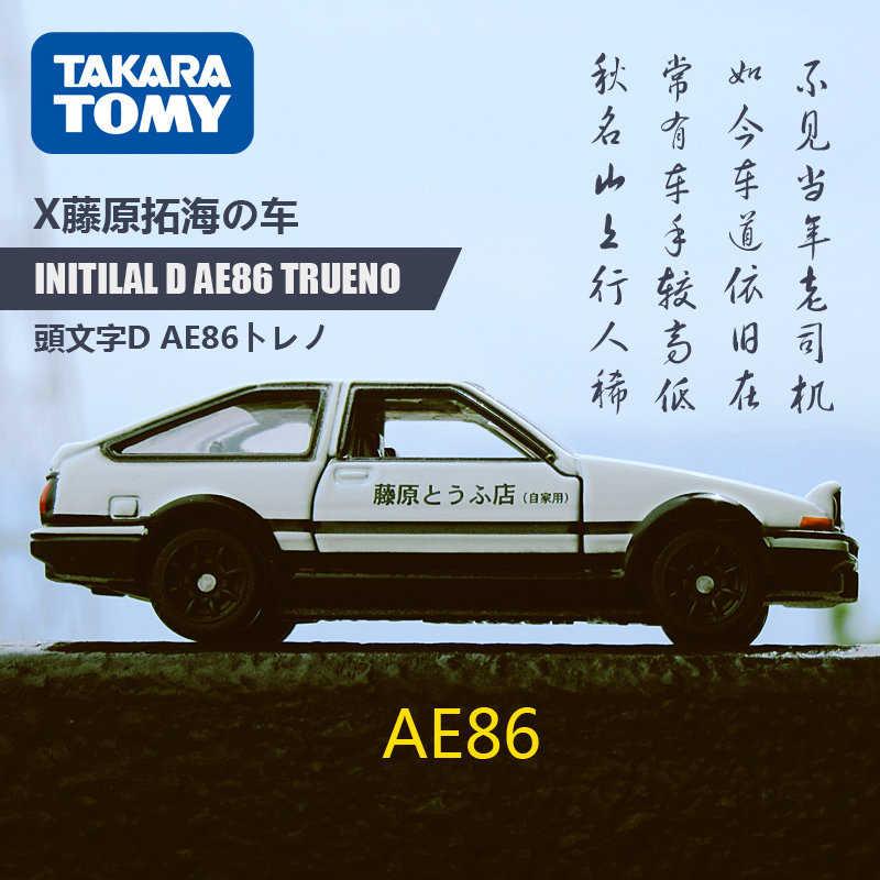 61 Takara Tomy Tomica Dream Series Toyota Initial D AE86 Trueno Scale 1
