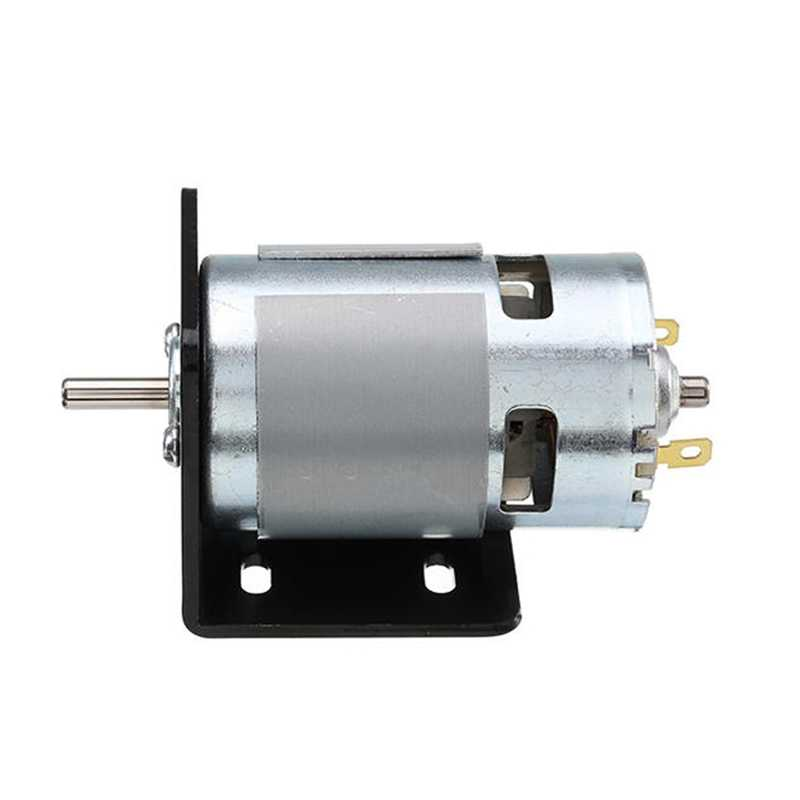 775 Motor With Mounting Bracket Dc 12V 10000Rpm Motor Double Ball Bearings 150W