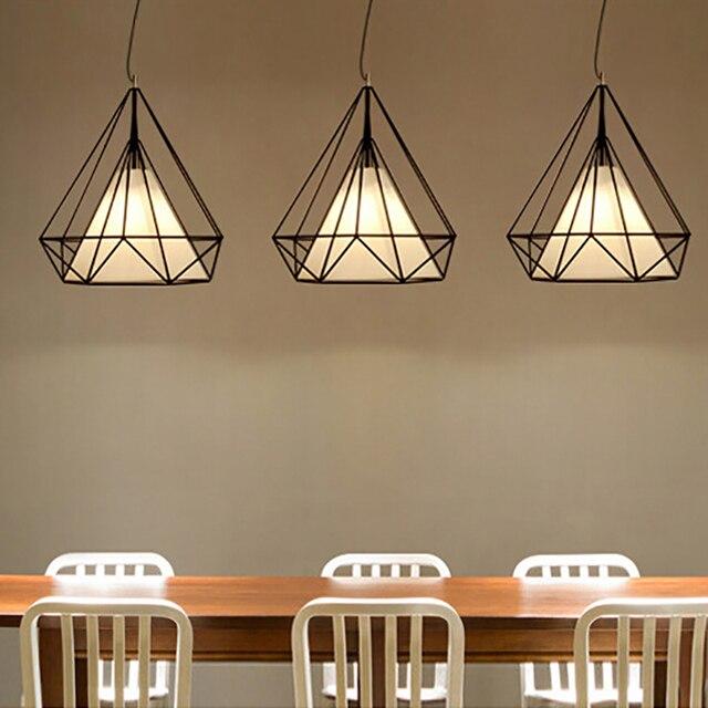 modern retro lighting. modern art deco blackwhite birdcage pendant lights iron minimalist retro light loft pyramid lamp lighting