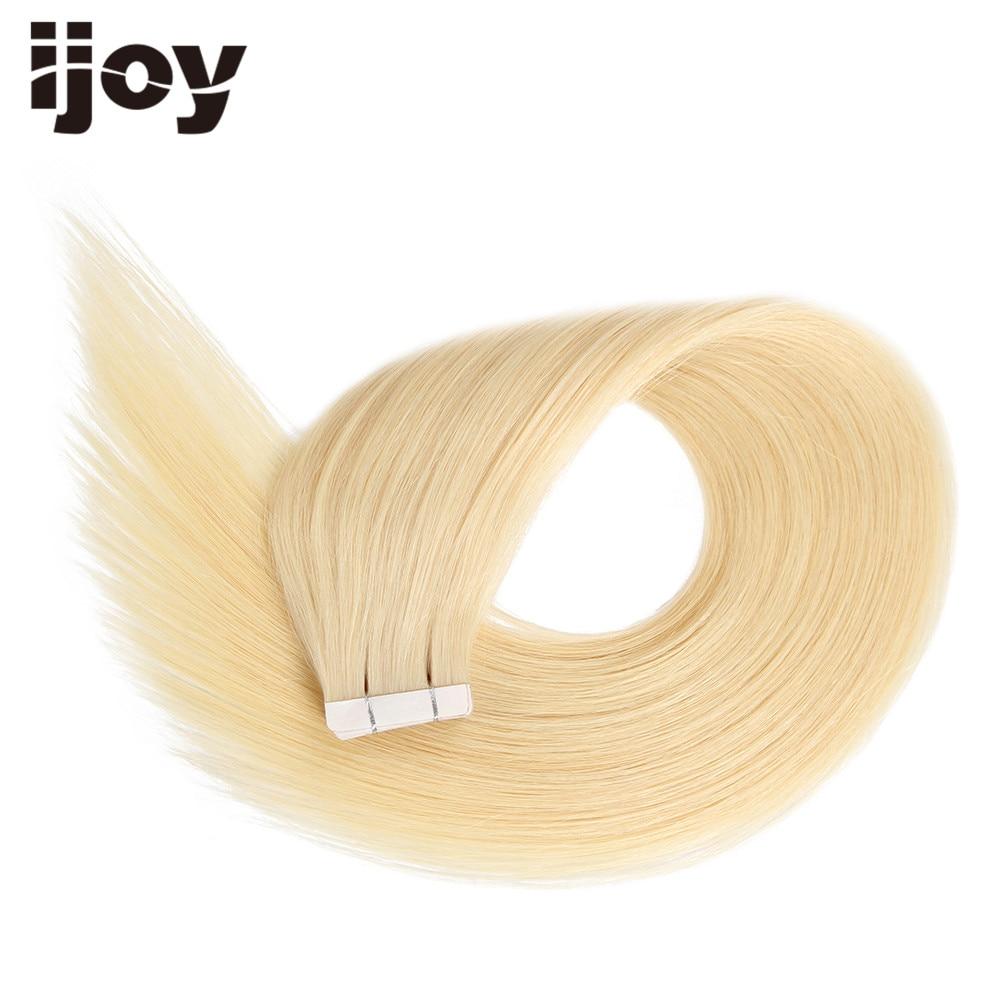 HEA HAIR-lint inimese juuste pikendamisel 20pc Brasiilia juuksed - Inimeste juuksed (valge)