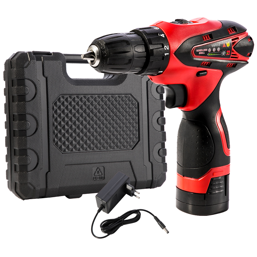 Cordless Electric Screwdriver Batteries 16 8V Drill Professional Tool for Drilling Screwing Percussion Wooden Working Tool