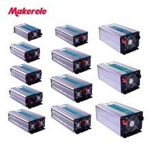 Pure Sine Wave Inverter 12v 220v Solar Power Off Grid 300W-5000W Universal or customize Socket 5V USB Output Cooling Fan стоимость