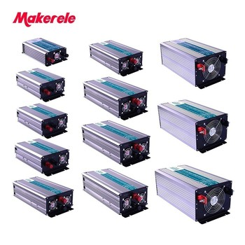 цена на Pure Sine Wave Inverter 12v 220v Solar Power Off Grid 300W-5000W Universal or customize Socket 5V USB Output Cooling Fan