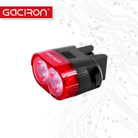 Gaciron Bike Tail Light Safety Warning 60 Lumens USB Rechargeable Bicycle Tail Lamp