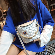 2019 New Chain shoulder bag Fashion designer PU leather diagonal package Women's luxury shoulder diagonal package bags for women стоимость