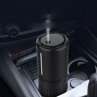 Car Air Purifier with HEPA Filter Fresh Air Anion Car Air Purifier Infrared Sensor Air Cleaner for Car Home Office