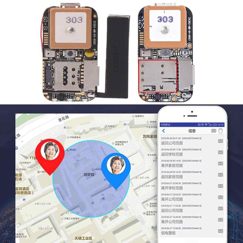 スーパーミニgpsトラッカーgsm agps wifiポンドロケータ送料webアプリ追跡ボイスレコーダーZX303内部pcba