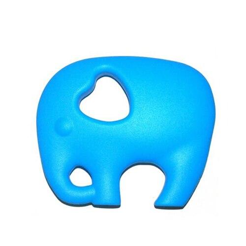 Прищепка для соски цепь силиконовый держатель пустышка Прорезыватель Соска с пищевой силиконовой соской для кормления младенцев BNZ20 - Цвет: Deep Sky Blue