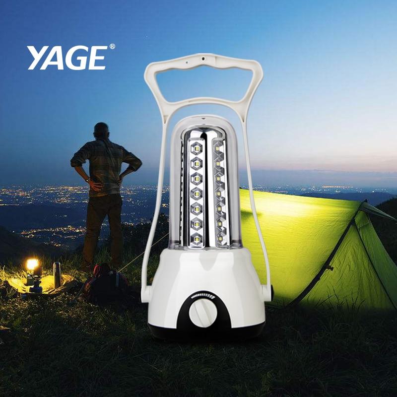 YAGE linterna camping lumière rechargeable camping led lanterne touristique Jardin allume une lampe de poche dans la tente rechargeable lampe