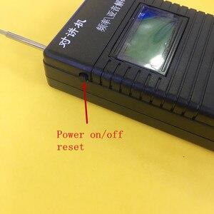 Image 4 - High sensitive handheld  frequency meter 100 999.9999MHZ for walkie talkie ham radio CTCSS DCS decoder