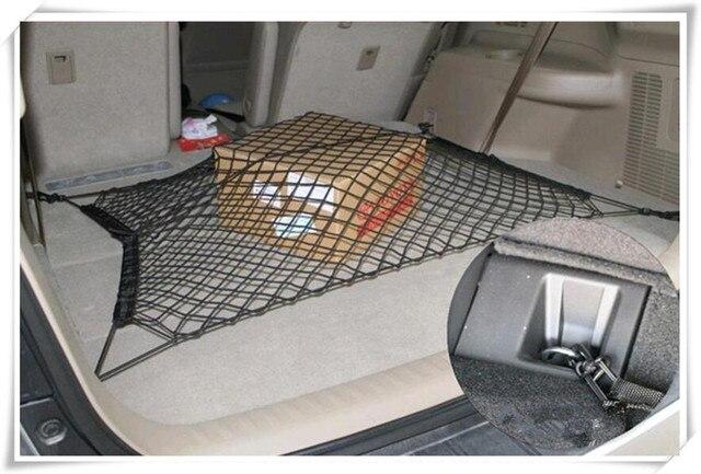 auto accessoires 4 haken kofferbak bagagenet voor mercedes w205 seat leon peugeot 207 renault. Black Bedroom Furniture Sets. Home Design Ideas