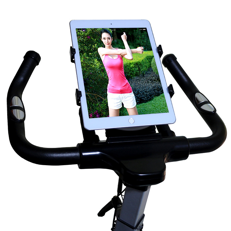 For ipad holder tablet car holder Adjustable 7 11' tablet holder Treadmill Buckle Mount Holder Indoor Handlebar on Exercise Bike|Tablet Stands| |  - title=