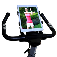For ipad holder tablet car holder Adjustable 7 11' tablet holder Treadmill Buckle Mount Holder Indoor Handlebar on Exercise Bike|Tablet Stands| |  -