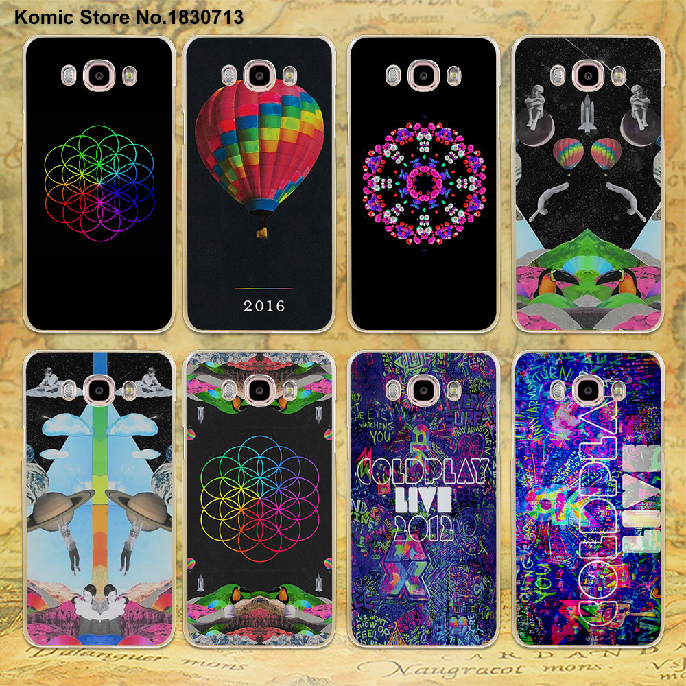 Coldplay A Head Full of Dreams design clear transparent hard Case for Samsung galaxy J7 2016 J5(2017 US) J3 J2 J1 2016