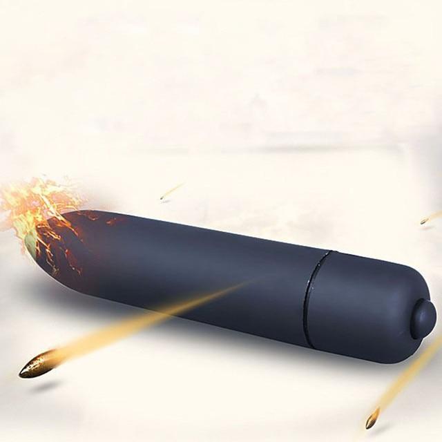 adult vibrator Waterproof Mini Point Vibrating Massager Bullet Trigger Point Jumping egg q70904