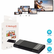 Mirascreen F2 5G wifi display tv stick PK android tv box support IOS Android Windows
