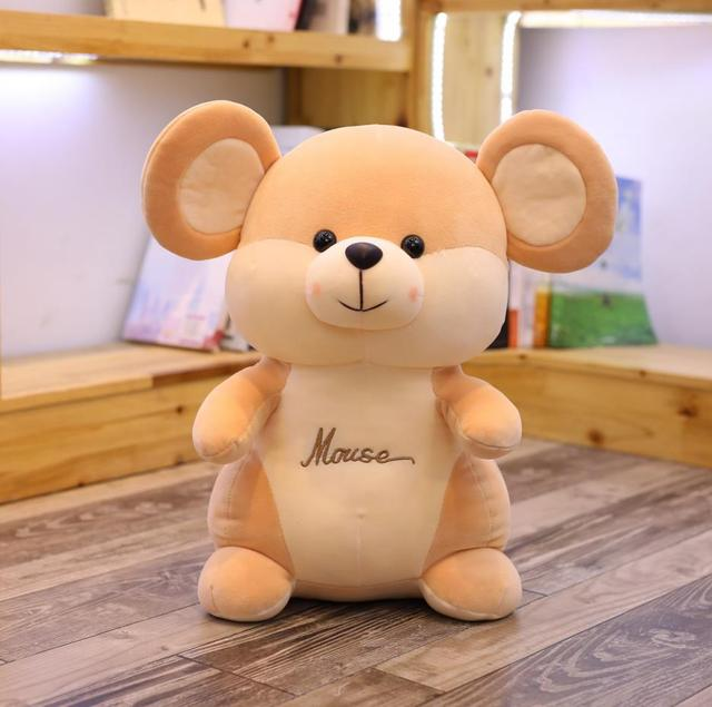 1pc 25/35/40CM Cute Mouse Plush Toys Lovely Animal Mouse Dolls Stuffed Toys for Children Kids Girls Finger Birthday Gifts