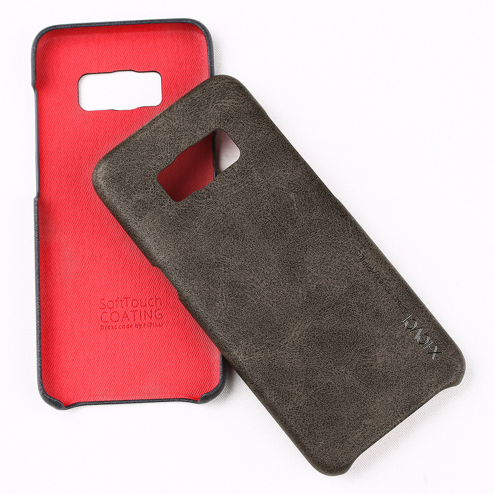 X Level Leather Case For Samsung Galaxy s8 5 8 PU Back Cover Case For Samsung