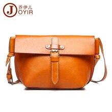 JOYIR Fashion High Quality Genuine Leather Women Small Shoulder Bag Vintage Messenger Crossbody Bag HandBag for Girl Ladies 8604