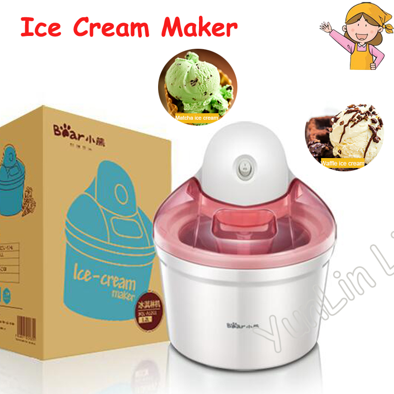 цена 1.2L Ice Cream Machine Household Automatic Ice Cream Machine Mini Fruit Ice Cream Maker Electric DIY Ice Cream Maker BQL-A12G1