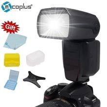 Mcoplus TR-982 II GN58 5500 K 1/8000 HSS E-TTL Inalámbrico Amo-esclavo Modo de Flash Speedlite para Canon DSRL cámara