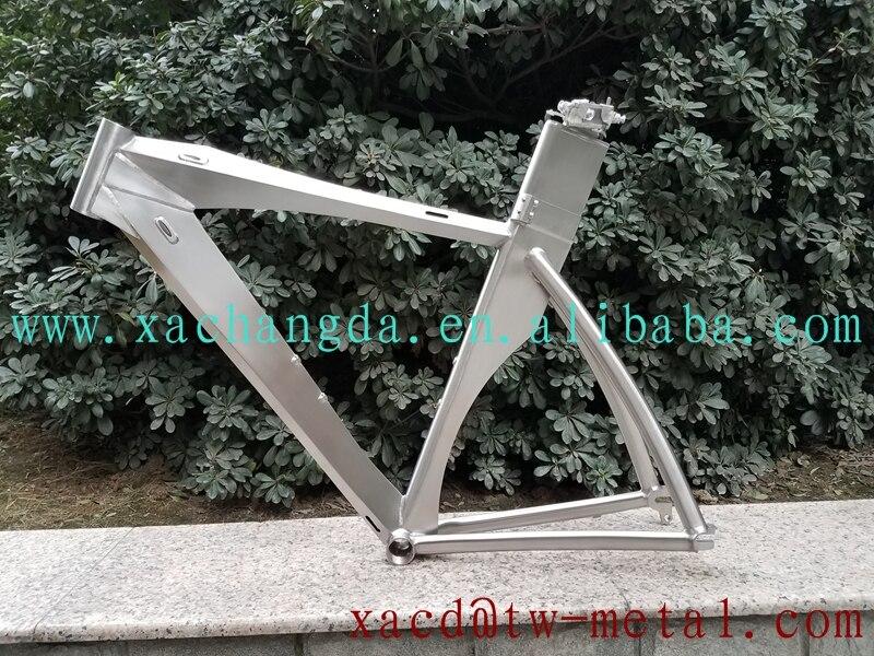 Bicycle-Frame Trial Custom-Titanium 700C Blade Chinese-Ti-Time
