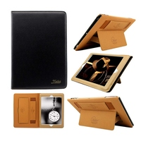 Best Promotion 9 Colors 360 Degree Protective Case PU Leather Ultra Thin Slim Smart Stand Holder
