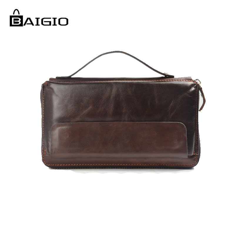 ΞBaigio Men Wallets Vintage Italian Leather Business Card Holders ...
