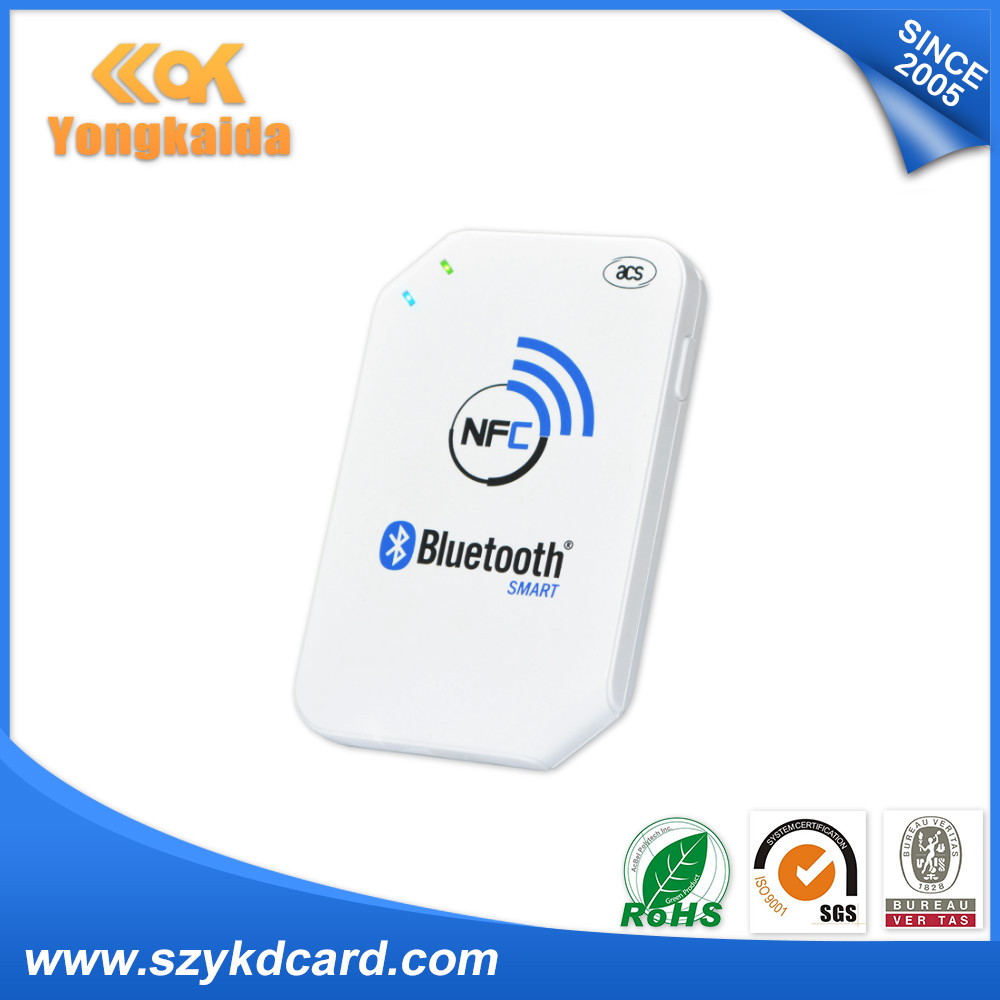ACR1255U-J1 13.56MHz RFID Card Reader Writer android rfid bluetooth reader yongkaida 13 56mhz acr1255u j1 iso18092 nfcip 1 compliant with bluetooth usb nfc card reader writer