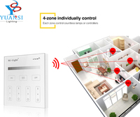 Mi Light 2 4G T1 4 Zone Brightness Dimming Smart Led Touch Panel Remote Controller Led