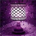 Европейский отрегулировать яркость LED Настольная Лампа ночной свет декоративные настольные лампы для спальни свадебный номер внутреннего освещения