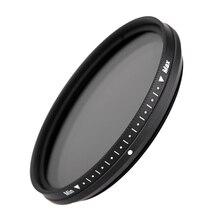 FOTGA 46 мм переменной фейдер фильтр объектива ND2 к ND400 ND100 ND32 ND16 ND8 ND4 нейтральной плотности