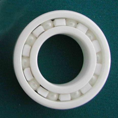 Full Ceramic Bearing 6210 50x90x20 mm Ball Bearings Non-magnetic Insulating PTFE Cage ABEC 3 цена