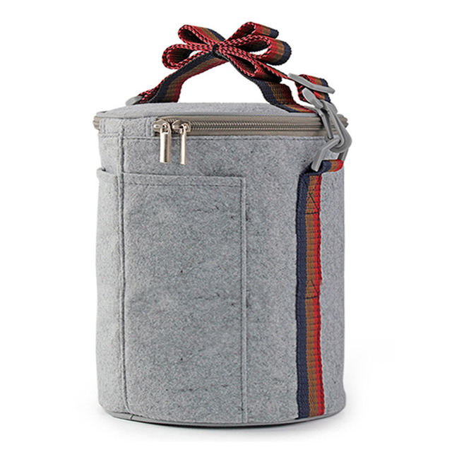 Retail Cooler Insulated Lunch Bags For Women Men Picnic Food Storage Pouch Kids Bag