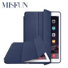 Original 1:1 PU Leather Ultra Thin Slim Smart Case for Ipad air 2 / air 1 ( Ipad 5 6 ) For Ipad Mini 1 2 3 Stand Cover LOGO