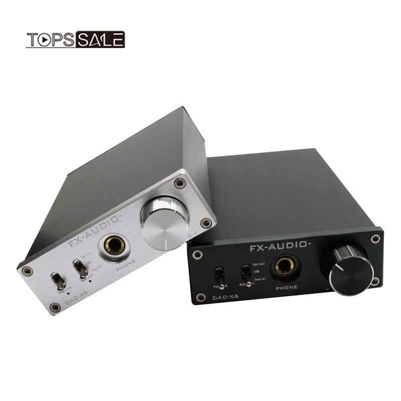 Unterhaltungselektronik Energisch Fx Audio Dac-x6 Hifi Optische/koaxial/usb Digital Audio Verstärker Dac Decoder Tragbares Audio & Video