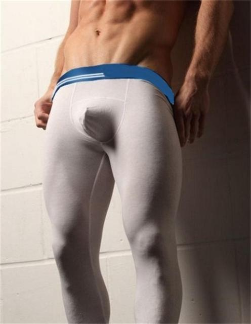 Longwears Modales Ropa Interior Térmica Delgada masculina Calzoncillos Largos de Los Hombres de Los Hombres de Otoño E Invierno Básica Calzoncillos Envío Gratis