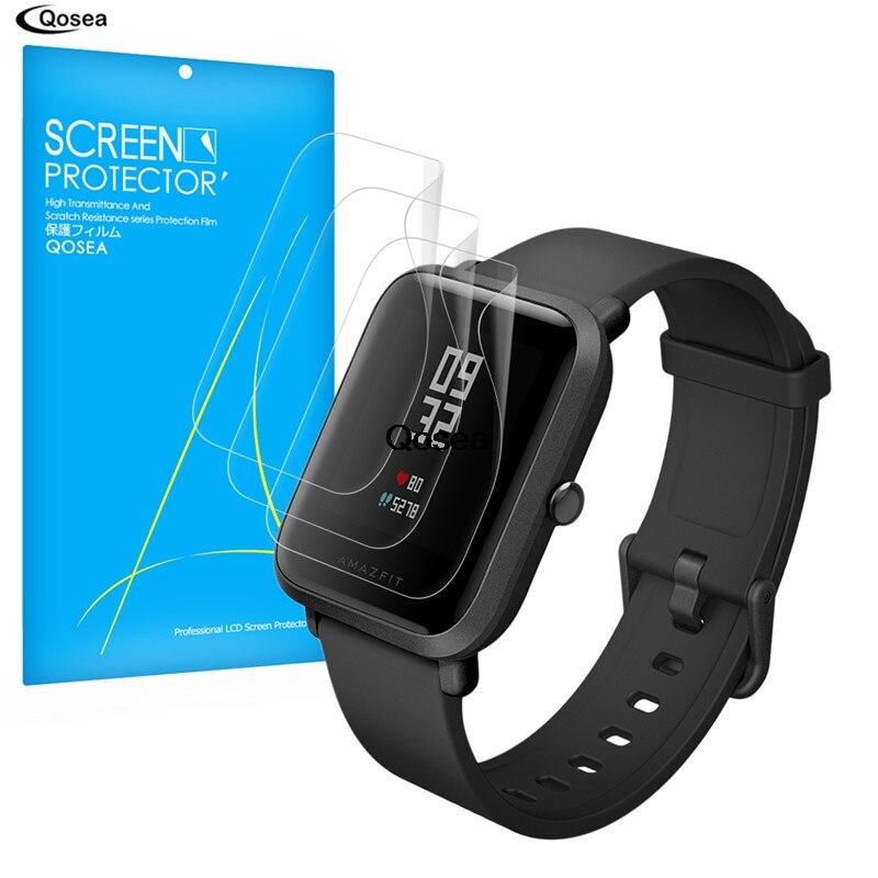 (3 PAKET) für Xiaomi Huami Amazfit Bip BIT TEMPO Jugend Lite SmartWatch Displayschutzfolie 3X Clear LCD Guard Shield Abdeckung Haut