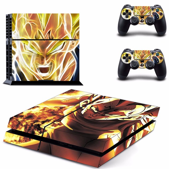 Dragon Ball Z  Decal Skin for Play station 4