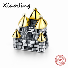 High Quality 925 SG Sterling Silver Sweet Home Charm Beads Fit Original Pandora Bracelet Pandora Pendant Beads Jewelry Gifts цена и фото