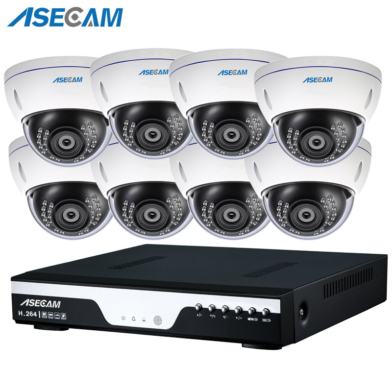 New 8CH 3MP CCTV H.264 Video Recorder Surveillance Indoor Metal Dome 1920p Security Camera System Kit Motion Detection P2PNew 8CH 3MP CCTV H.264 Video Recorder Surveillance Indoor Metal Dome 1920p Security Camera System Kit Motion Detection P2P