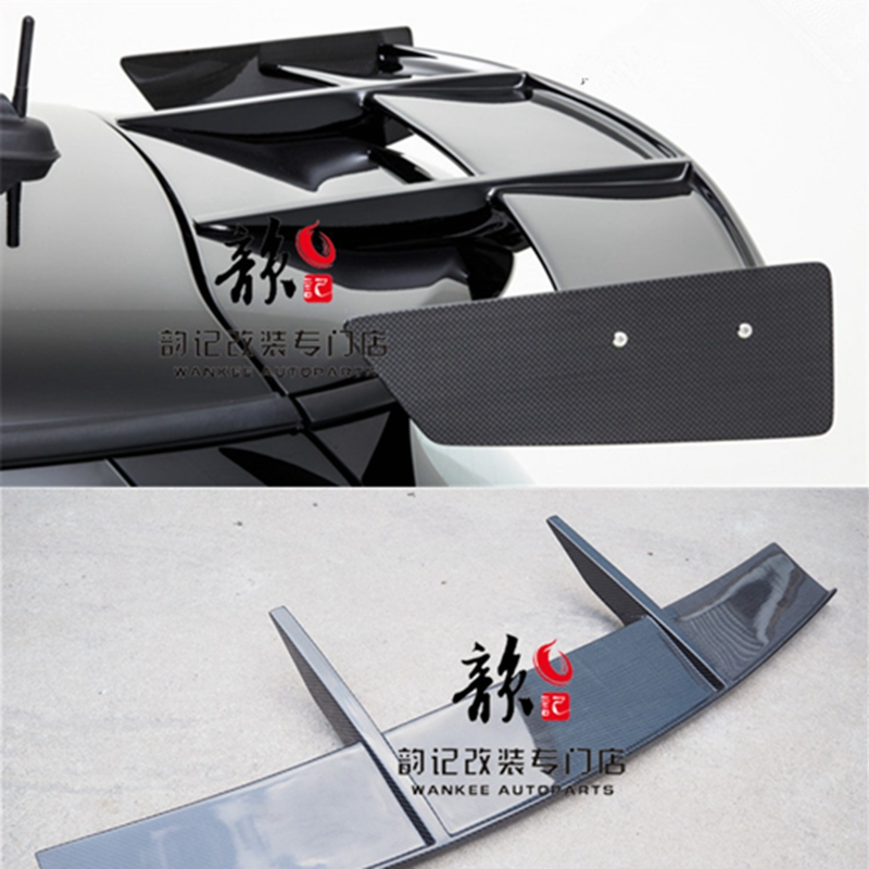 Automotive styling carbon fiber RK rear spoiler roof window wing racing auto body kit for F56 Mini Cooper S (S only)