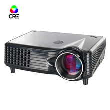 Mejor CRE X300 Más Favorable LED LCD 800*480 p de cine en Casa soporte Proyector 1080 p HDMI USB VGA AV